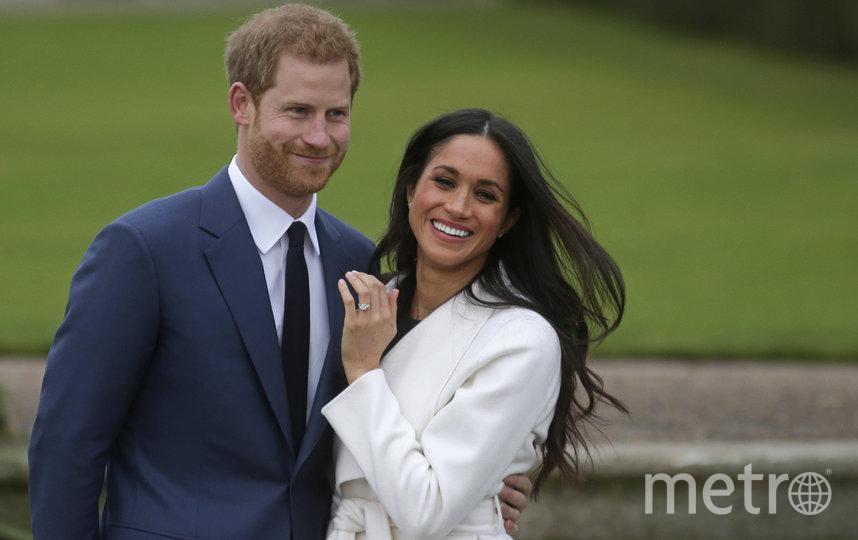 Меган Маркл и принц Гарри. Фото AFP