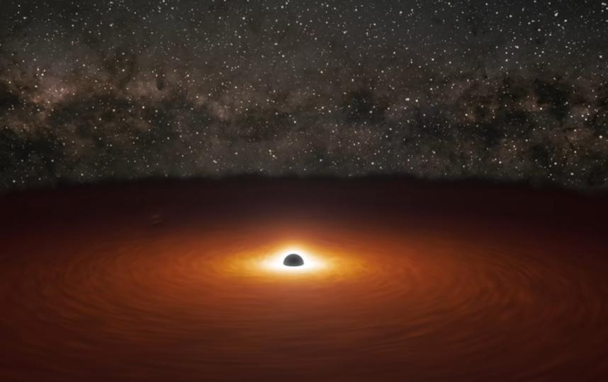 """Учёные опубликовали видео """"танцующих"""" чёрных дыр. Фото скриншот , Скриншот Youtube"""