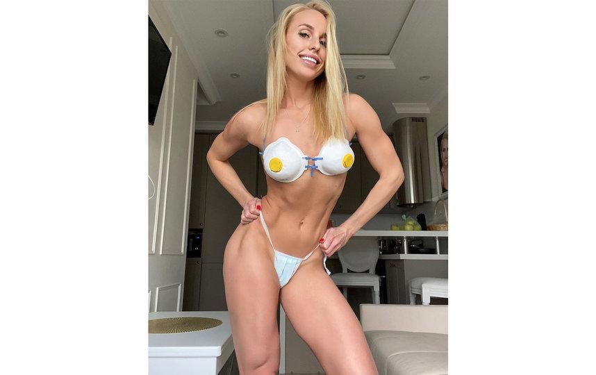 Фитнес-тренер и модель Юлия Ушакова. Фото instagram.com/yulia_ushakova