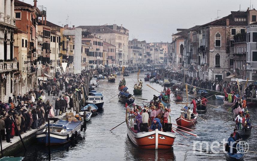 Так выглядела Венеция в дни карнавала, когда правительство впервые заговорило о необходимости карантина. Фото Getty