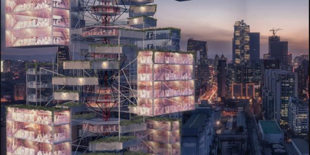 Эпидемическая Вавилонская башня: небоскрёб скорой помощи.