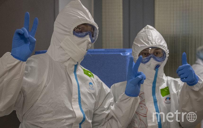 Столичные больницы, перепрофилированные под лечение новой инфекции, принимают на работу и практику студентов медвузов. Архивное фото. Фото AFP
