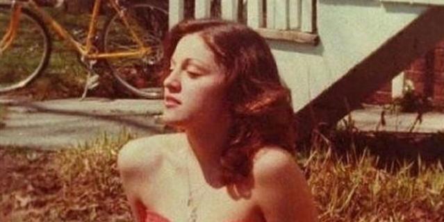 Мадонна в юности.