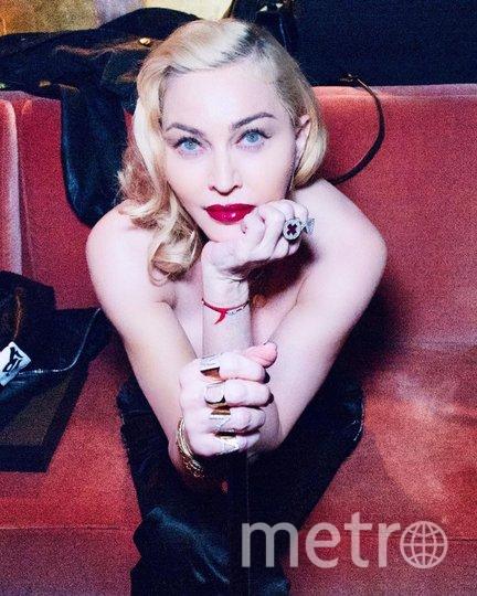 "Мадонна сегодня. Фото www.instagram.com/madonna/, ""Metro"""
