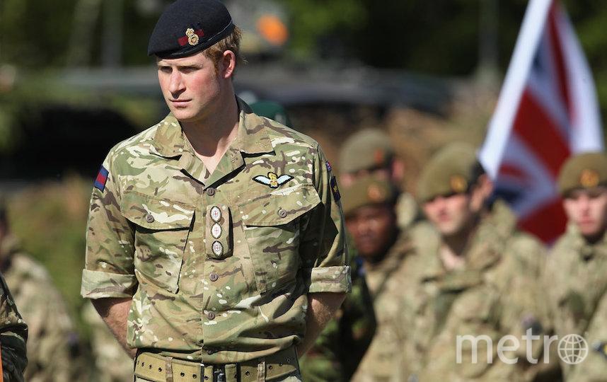 Принц Гарри в военной форме. Фото Getty
