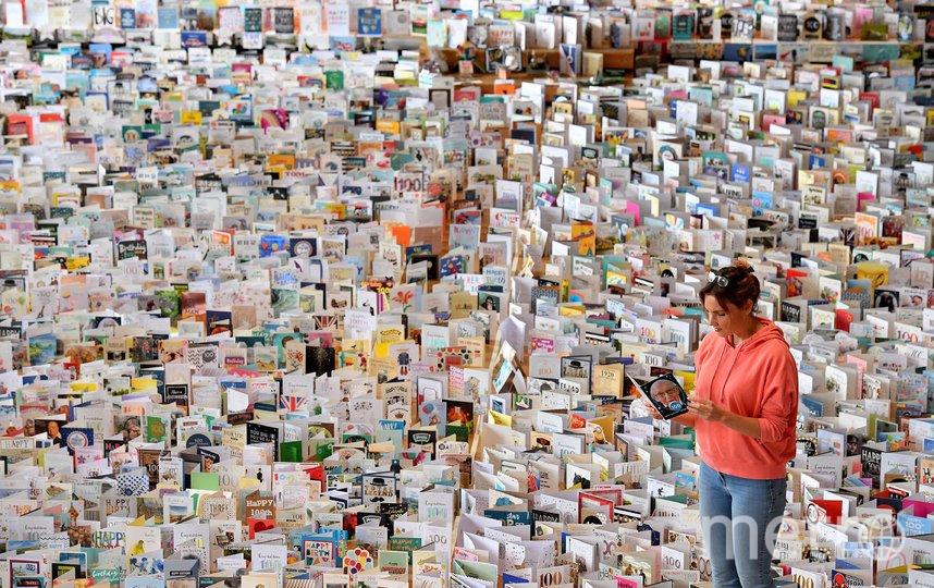 Том Мур получил 125 тысяч поздравительных открыток. Фото AFP