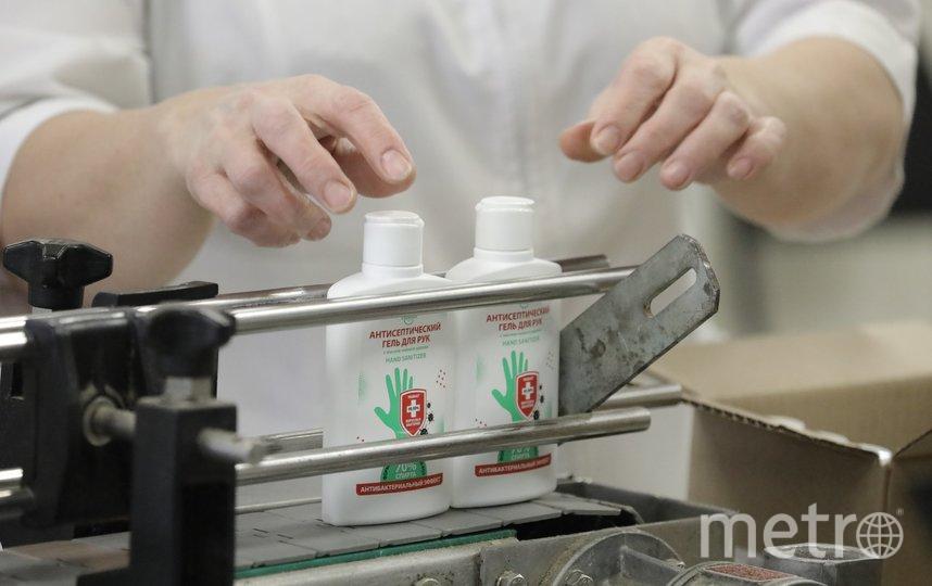 "Производители пива получат временное разрешение на изготовление антисептиков. Фото Агентство ""Москва"""