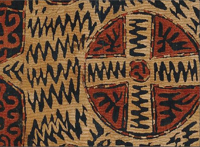 """Пример Кайтагской вышивки. Фото youtube-канал Государственного музея искусств народов Востока, """"Metro"""""""