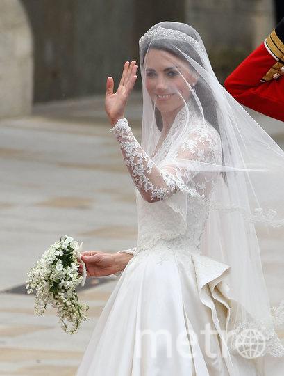 Кейт Миддлтон в день свадьбы. Фото Getty