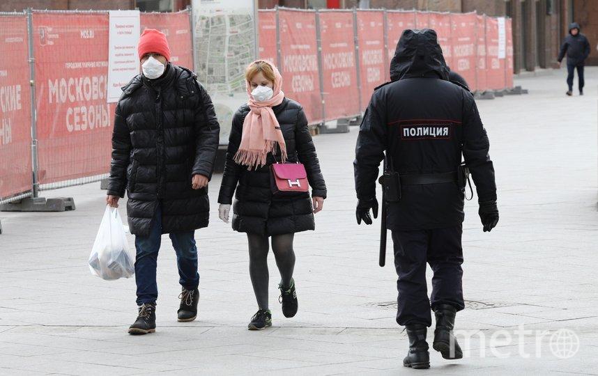 """Жители Московской области будут обязаны носить маски. Фото Агентство """"Москва"""""""