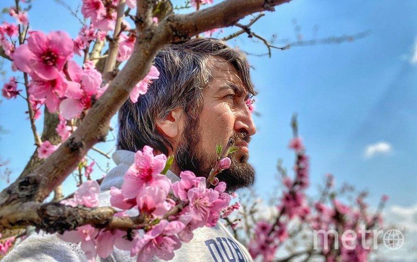 Камал Салманов (Дагестан, село Миатли) на цветение персиков любуется без гостей и туристов, но есть их надеется уже с ними. Фото предоставлено героем материала