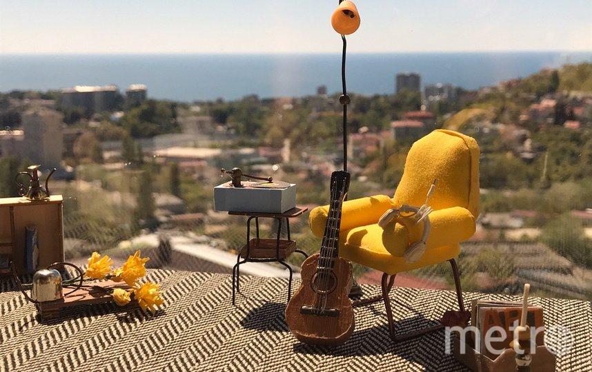 Игрушечный домик Марии Козырис. Фото предоставлено героиней материала