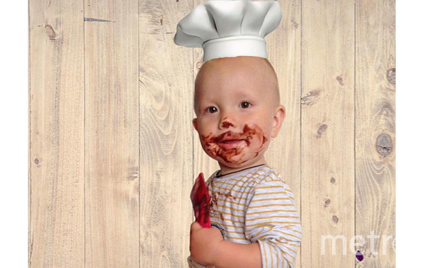Дети – прекрасные помощники на кухне. Фото Екатерина Мокрякова