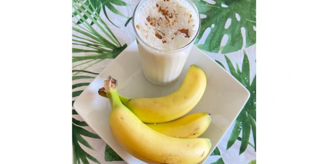 Молочный коктейль из банана.