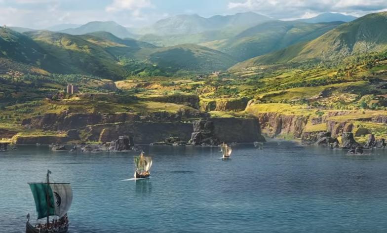 Опубликован трейлер Assassin's Creed Valhalla. Фото кадр из трейлера | Ubisoft, Скриншот Youtube