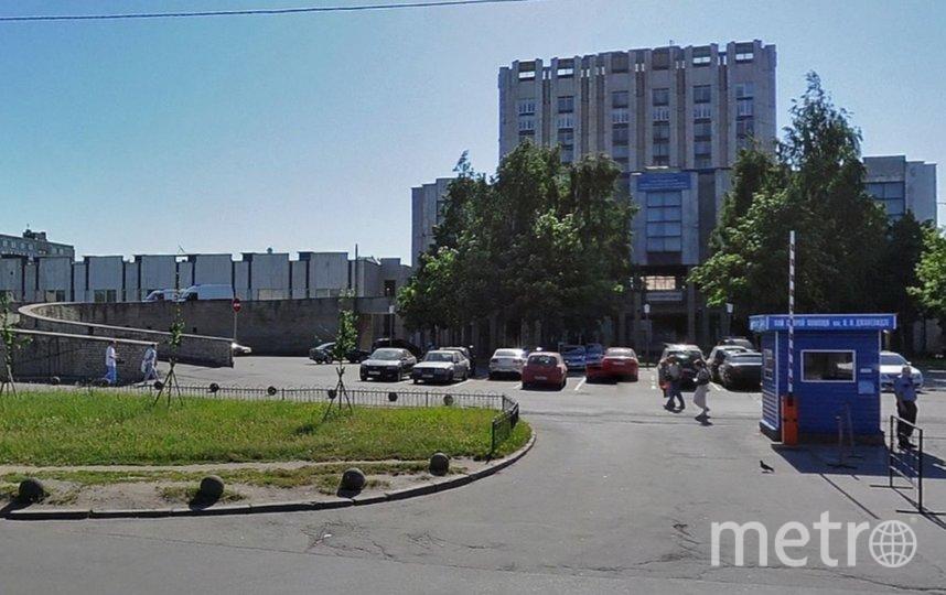 НИИ Скорой помощи имени И.И. Джанелидзе. Фото Яндекс.Панорамы