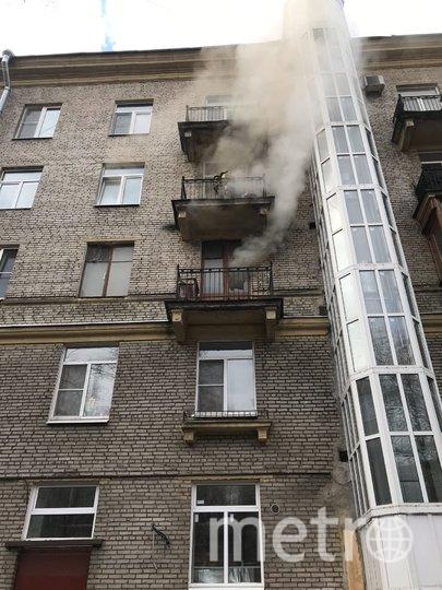 Пожар на Школьной. Фото ДТП и ЧП / Санкт-Петербург /vk.com/spb_today, vk.com