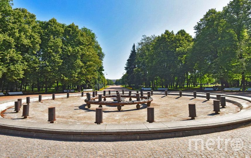 Фонтан в парке Победы. Фото Яндекс.Панорамы