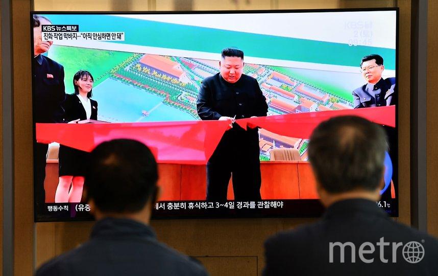 Ким Чен Ын. Фото AFP