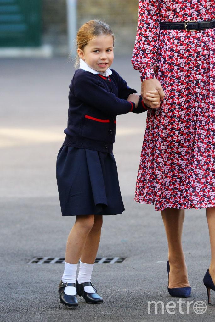 Шарлотта пошла в школу в сентябре 2019-го года. Фото Getty