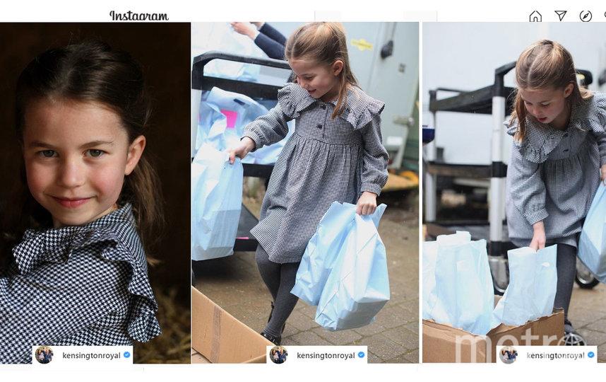 Новые фото принцессы Шарлотты, май, 2020. Фото instagram.com/kensingtonroyal