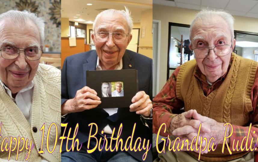 Американец, переживший испанский грипп, Великую депрессию и Вторую мировую войну, победил коронавирус в свой 107-й день рождения. Фото facebook   Janet Pananganan Heider
