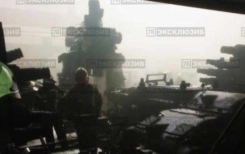 Фото с места происшествия. Фото Скриншот/канал 78