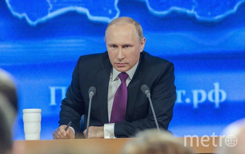 Президент России Владимир Путин, архивное фото.