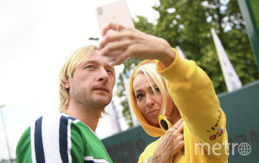 Евгений Плющенко и Яна Рудковская. Фото РИА Новости