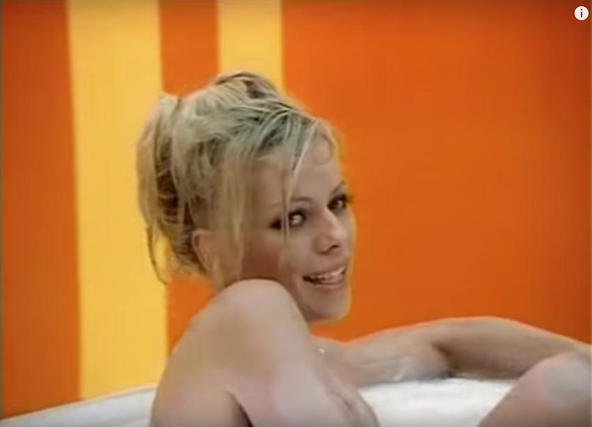 Ирина Салтыкова в молодости. Фото Скриншот Youtube