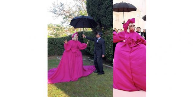 В 2019 году Леди Гага эпатировала гостей своим пышным нарядом, под которым оказалось ещё три других, которые она сменила прямо на красной дорожке.