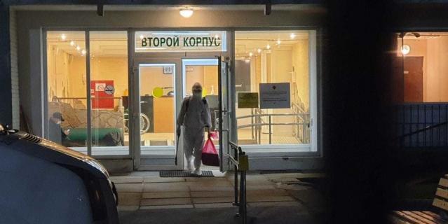 """Пансионат """"Заря"""" в Петербурге начал приём пациентов с тяжёлой формой COVID-19."""