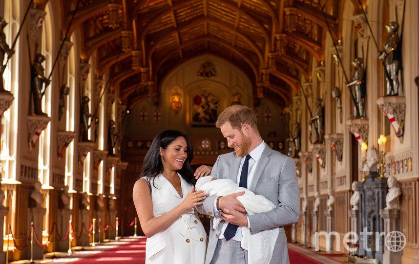Меган Маркл, принц Гарри и Арчи. Фото Getty