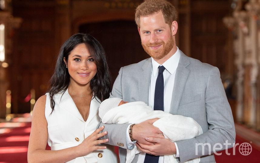 Первый выход принца Гарри и Меган Маркл с маленьким Арчи. Фото Getty