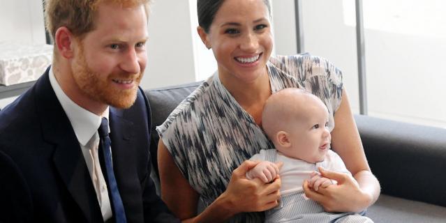 Принц Гарри, Меган Маркл и Арчи в Южной Африке.