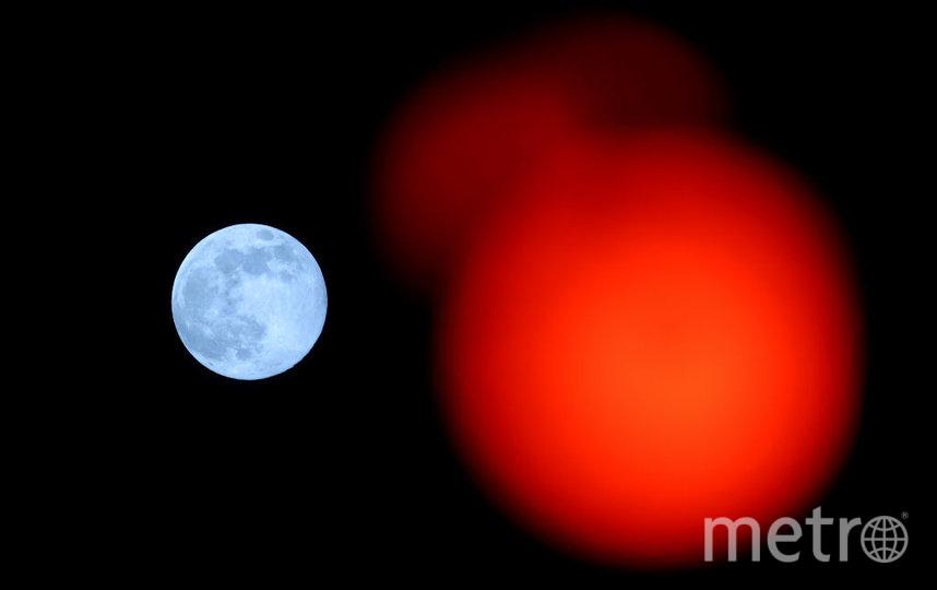 Пик полнолуния придется на 7 мая. Фото Getty