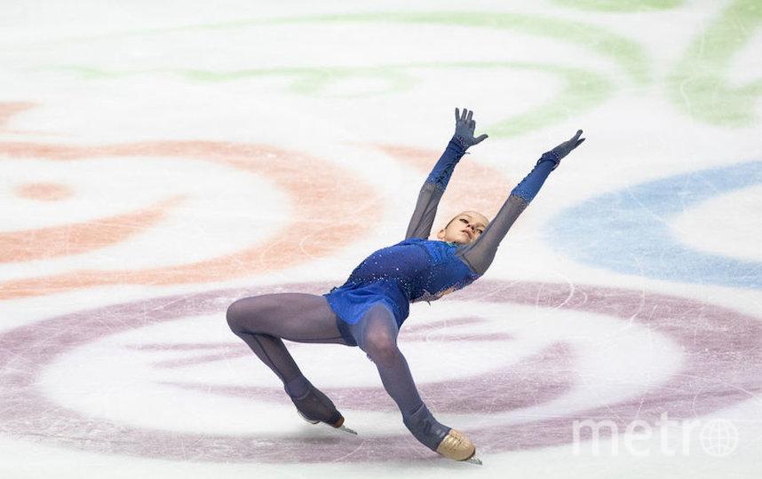 Александра Трусова. Фото Getty