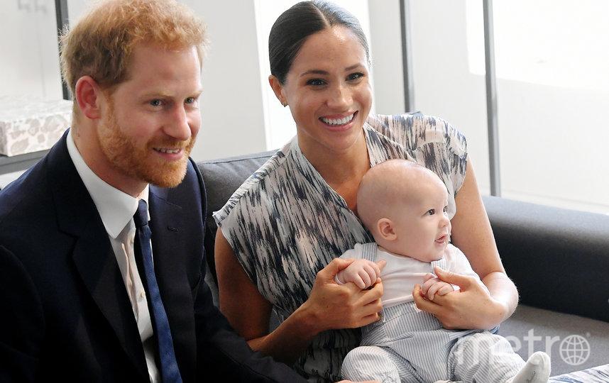 Принц Гарри, Арчи и Меган Маркл. Фото Getty