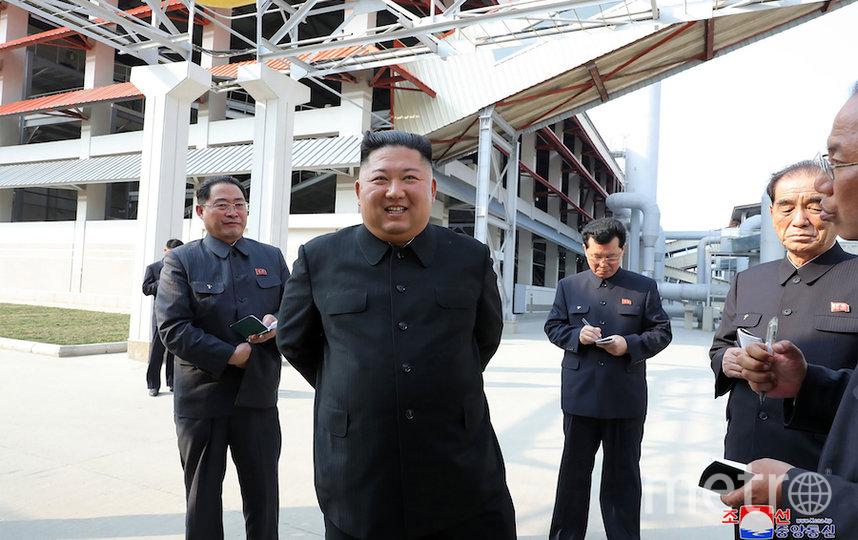Последние официальные фотографии Ким Чен Ына. Фото AFP