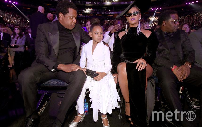 Jay-Z и Бейонсе с дочерью Блю Айви. Фото Getty