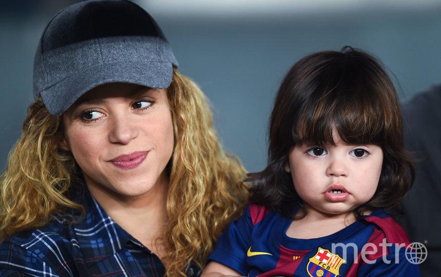 Шакира и её сын Милан. Архивное фото. Фото Getty