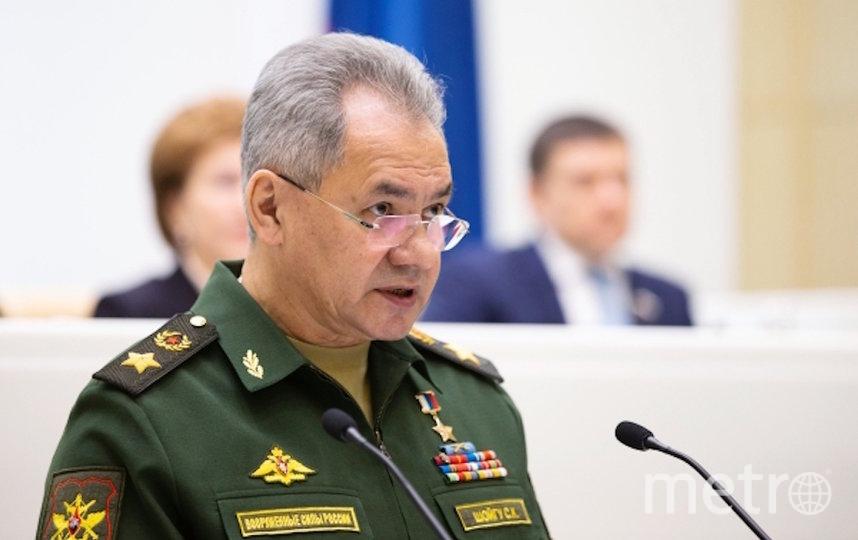 Сергей Шойгу. Фото РИА Новости