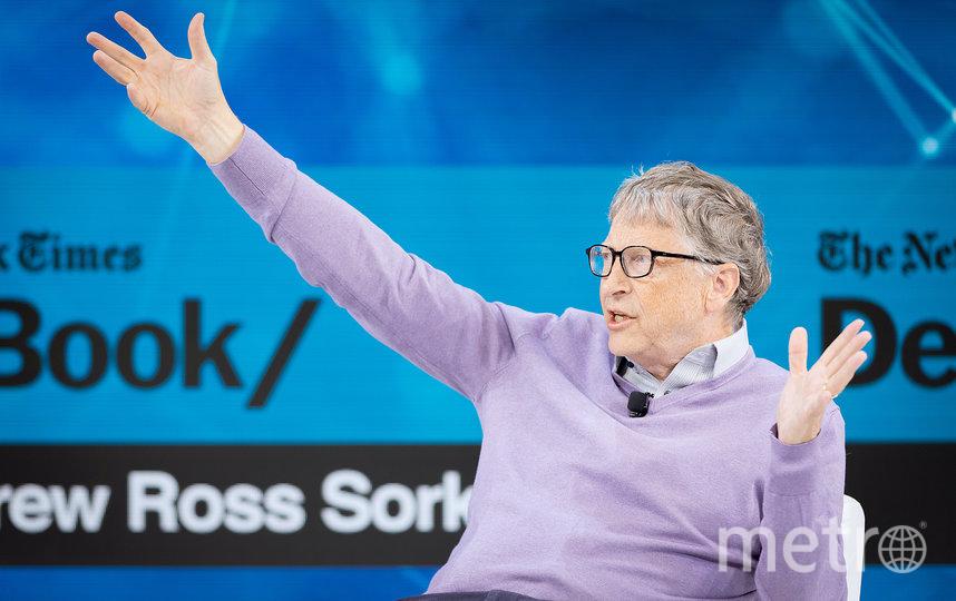 Коварный Билл Гейтс. Фото Getty
