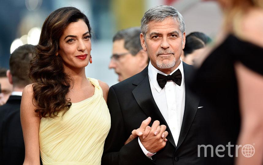 Джордж и Амаль Клуни. Архивное фото. Фото Getty