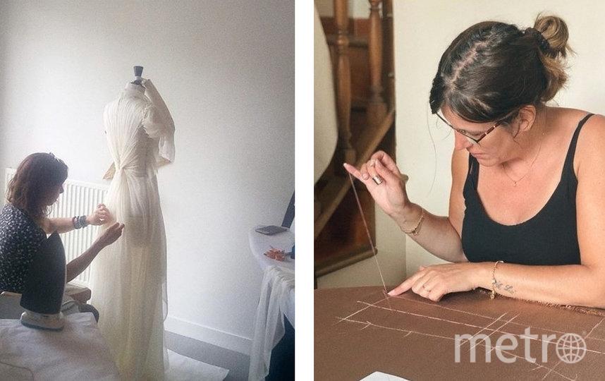 Сотрудники ателье шьют в домашних условиях наряды стоимостью в несколько тысяч долларов. Фото instagram.com/dior