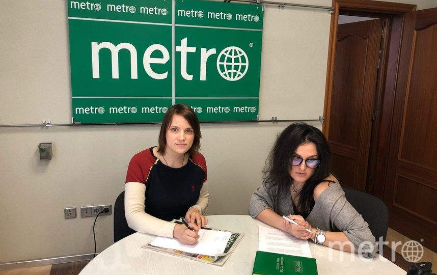 """Татьяна Гилёва (слева) почти час отвечала на вопросы читателей. Фото """"Metro"""""""