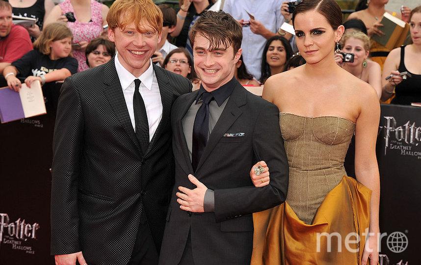 Актёры фильмов о Гарри Поттере. Фото Getty