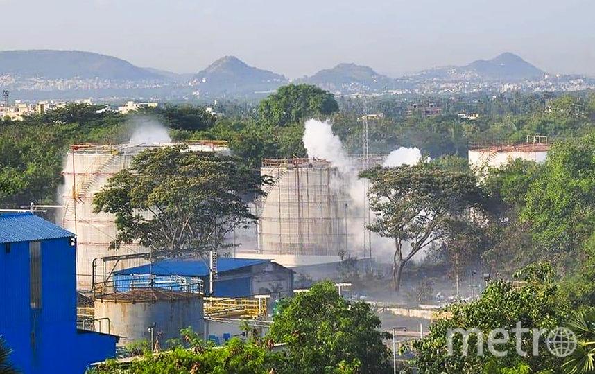 На заводе LG в Индии произошла утечка газа, в результате которой погибло как минимум 13 человек. Фото AFP