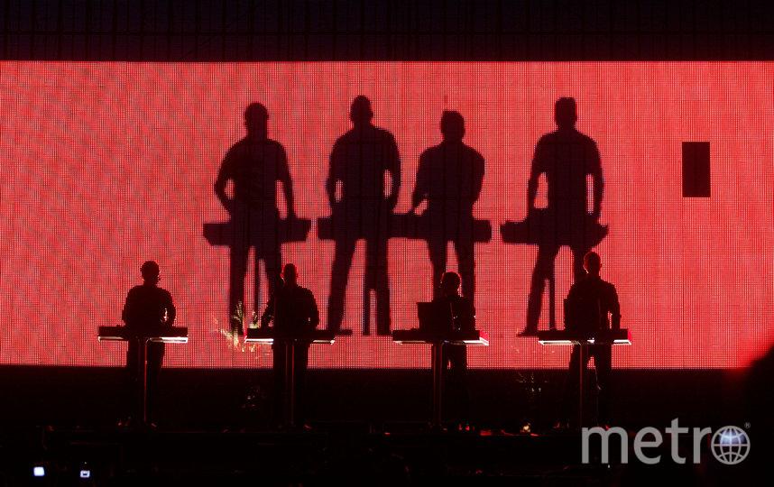 """Kraftwerk. Фото """"Metro"""""""