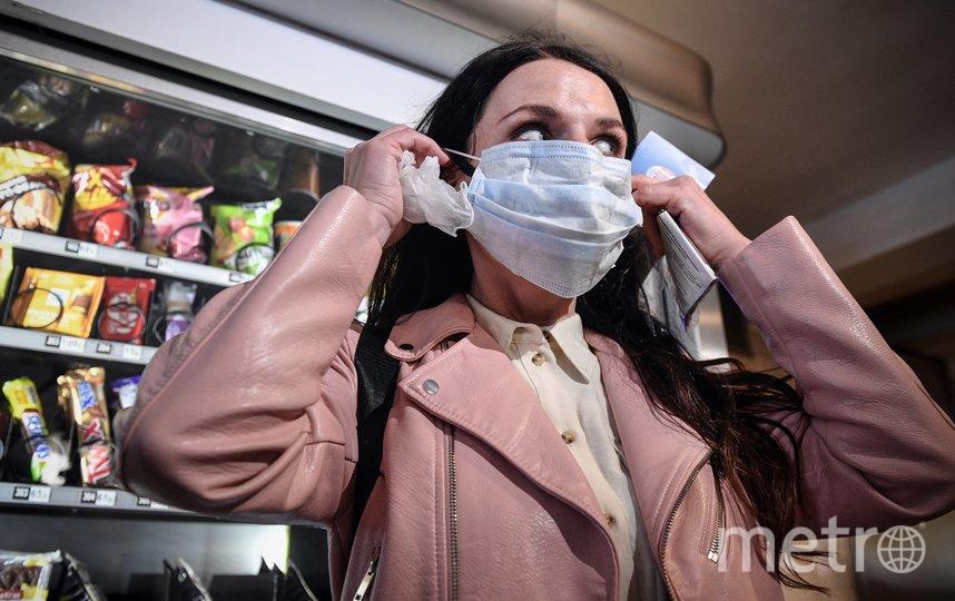 С 12 мая в магазинах столицы надо будет носить маску. Фото AFP